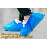 Buy cheap custom waterproof SMS pp non woven medical surgical use Polypropylene Disposable Shoe Cover non skid anti skid bagease product