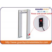 Buy cheap Audible Alarm Metal Detectors For Security Full Body Scanner With 6zones product
