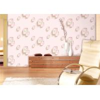Buy cheap Eco-Friendly Low Flammability Living Room Wallpaper , Interior Decorating Wallpaper product