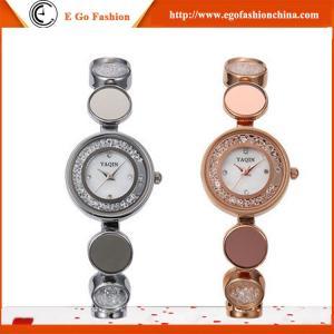 Buy cheap El vestido disponible mezclado los colores del reloj de la pulsera de relojes de la mujer del pedido YQ06 2 mira el lujo nuevo product