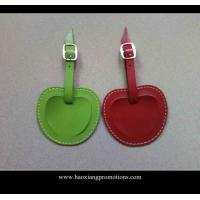 Buy cheap New Products for 2015 Factory Customized Leather Luggage Tag with your logo product