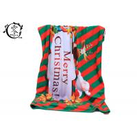 Buy cheap Multiple Color Christmas Celeration Blanket , Eco-Friendly Winter Easy Care Blanket product