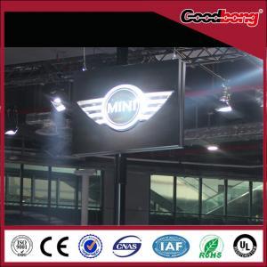 Buy cheap LED Illuminated Thermoforming car logo Auto Signage product