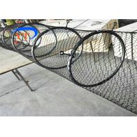 Buy cheap Special Type Diamond Mesh Fencing , Flexible Stainless Steel Bird Cage Fencing product