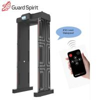 Buy cheap Multi Zones Full Body Portable Metal Detector Gate For Exhibition Hall Security product