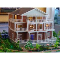 Well quality architectural scale model with led lights 3d for 3d house maker