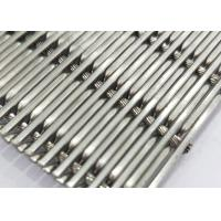 Buy cheap White Steel Crimped Wire Mesh , Plain Weave Mesh Bright Smooth Wear Resistance product