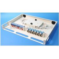 Buy cheap fixed 24 ports optical fiber distribution product