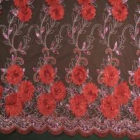 Buy cheap Lace cotton embroidery 3 D special Wedding dress lace(Factory direct sale spot hot style three-dimensional) product
