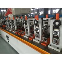 Buy cheap High speed ms pipe making machinery Fully automation high precision ERW tube mill product