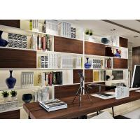 Buy cheap Imitation Walnut Color PVC Material Self Adhesive Wallpaper With 0.45*10M Size product