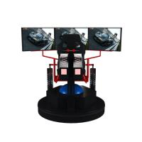 Buy cheap 3 Dof Motion Simulator Car Racing Game Machine 9d Vr Electric 3 Screens product