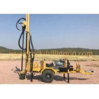 Buy cheap 200m Trailer Mounted Water Well Drilling Rig With Diesel Engine Water Well from wholesalers