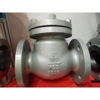 """Buy cheap API 600 Carbon Steel 150LB 3"""" Swing ANSI Flanged Check Valve WCB Check Valve product"""