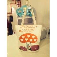 Buy cheap Eco friendly Canvas Shopping bag product