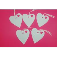 Buy cheap art paper tag kraft paper hang tag customize shape size and any color product