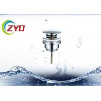 Buy cheap 304 Stainless Steel Sink Drain Pipe Chrome Plated Faucet Pop Up Pipe product