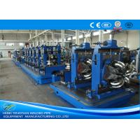 Buy cheap Flattening Welded Tube Mill 8mm , Friction Saw Industrial Tube Mills product
