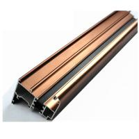 Buy cheap 6063 U Shaped Aluminium Profile , Mechanically Polished Aluminium Corner Profile Joint product