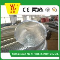 Buy cheap High pressure Flexible pvc spiral steel wire reinforced hose product