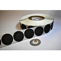 Buy cheap Round EAS Rfid Barcode Labels In Roll 8.2Mhz Security Soft Labels For Checkpoint product