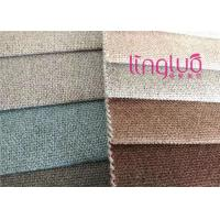 China Imitation Linen Fastness Color Shoes Fabric Milan Cashmere Fast Delivery on sale
