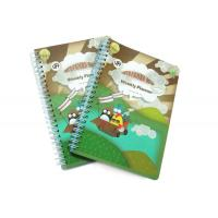 Buy cheap PP Cover Memo Pad Custom Spiral Notebooks With A6 / A5 / A4 Lined Paper product