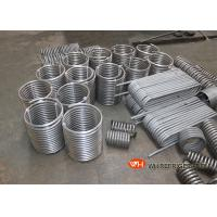 Buy cheap Titanium Immersed Coil Type Heat Exchanger , Tube Coil Heat Exchanger CE ISO9001 product