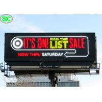 Buy cheap Ultra Thin RGB P6 P8 IP65 Led Advertising Billboards With 8 Years Warranty product
