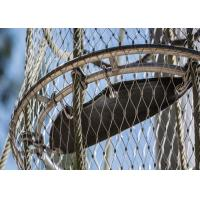 Buy cheap Corrosion Resistant Decorative Rope Mesh Aperture 25x25 - 200x200mm For from wholesalers