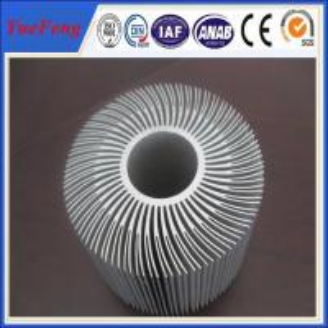 Buy cheap Extruded Aluminum Round Heat Sink,Sunflower Heat Sink New Design product