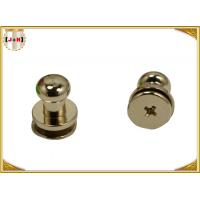 Buy cheap Custom Metal Hardware For Bags / Handbags , Leather Purse Handles And Hardware product