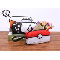 Buy cheap Cartoon Pokemon Balls Canvas Pencil Case Pouch Portable Waterproof Pencil Wrap Case product