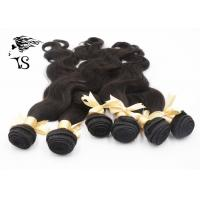 Buy cheap Virgin Peruvian Unprocessed Human Hair Weave 6 Bundles Body Wave Natural Black product