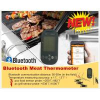 Buy cheap Mieo Remote Bluetooth BBQ Thermometer with Grill Temperature for iOS and Android Smart Phone Control product