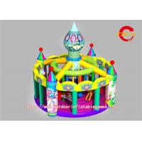 China  Forest World Commercial Inflatable Bounce House PVC Clip Mesh for Child  for sale