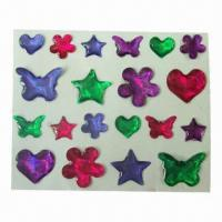 Buy cheap Cute 3D Epoxy Stickers, Like Crystal, Decorating Gifts, Scrapbooks, Cards and Walls product