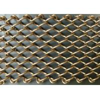 Buy cheap Customized Colored Metallic Curtain / Chain Mesh Curtain Indoor Decoration product