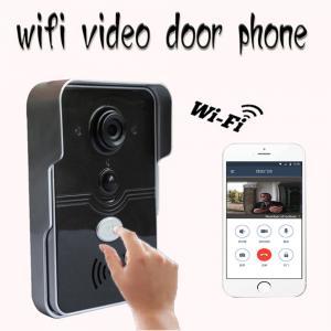 Buy cheap P2P Technology WIFI Video Doorbell , Wireless Intercom Doorbell Real Time Video Talking product