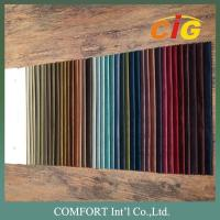 Buy cheap 100% Polyester Home Textile Fabric Velvet Plain Pattern And Embossed Pattern product