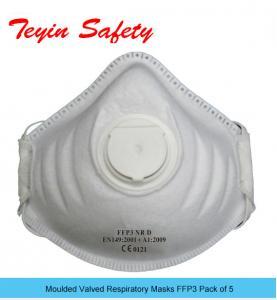 Buy cheap Pliez le masque de poussière plat P3 Valved à usage unique product