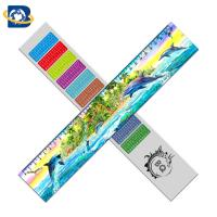 Buy cheap 3d Or Flip Change Custom Printed Plastic Rulers For Kid Stationery product