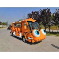 Buy cheap Various  Cartoon Patterns Of 14 SEATS  Electric Cartoon Sightseeing Bus power 72v7,5kw product