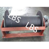 Buy cheap Groove Sleeve Hydraulic Crane Winch 3 MM - 190 MM Wire Diameter product