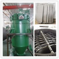 Buy cheap Automatic Discharge Pressure Vertical Leaf Filter Press Equipment  High Efficiency product