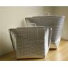 """Buy cheap 4""""X8"""" #000 Custom Printed Merchandise Bags , PEVA Silver Metallic Packaging Bags from wholesalers"""