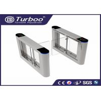 Buy cheap 180 Degree Intelligent Access Control Turnstile Gate , Swing Barrier Gate product
