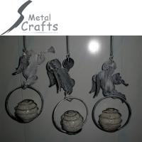 China home and garden decoration angel metal crafts on sale