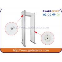 Quality Bank Airport Security Machines 6 Zones With Sound And LED Alarm , Police Metal for sale