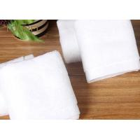 Buy cheap Customized Hotel Face Towel White 100% Organic Cotton Bulk product